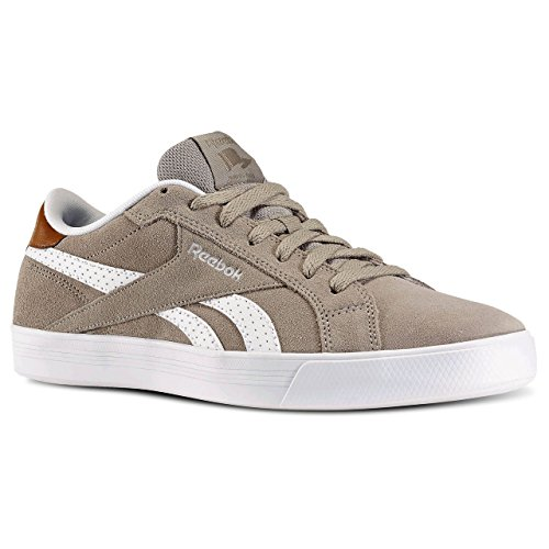 Reebok Royal Complete Low, Scarpe da Tennis Uomo Multicolore (Marrón / Beige / Blanco (Beach Stone / White / Brown Malt))