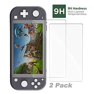 iMW Bildschirmschoner aus gehärtetem Glas für Nintendo Switch, 2er-Pack