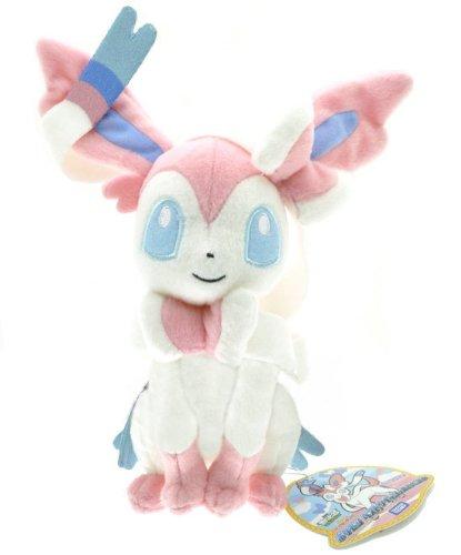 Pokemon Pocket Monster Soft Stuffed Toy Plush Doll Children One Size Sylveon