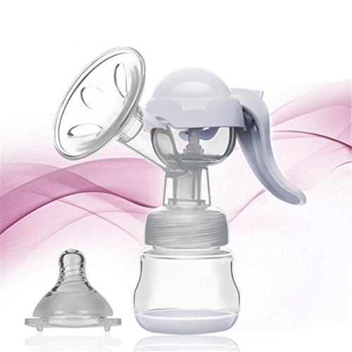 Leydee Tiralatte Al seno pompa 150ml PP alimentazione manuale alimentazione Baby capezzolo del seno di aspirazione tiralatte latte bottiglia succhiare , b
