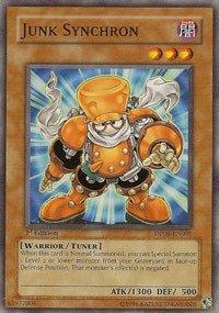 Yu-Gi-Oh.-Junk Synchron (dp08-en001)-Duelist Pack 8Yusei Fudo-1. Edition-gebräuchlicher von Yu-Gi-Oh.