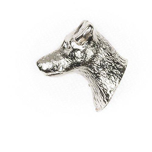 Jack- Russell- Terrier Hergestellt in U.K. Kunstvolle Hunde- Anstecknadel Sammlung -