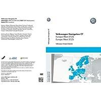 Volkswagen DVD-ROM para sistema de navegación RNS 510, Europa Occidental (V15), 1t0051859an