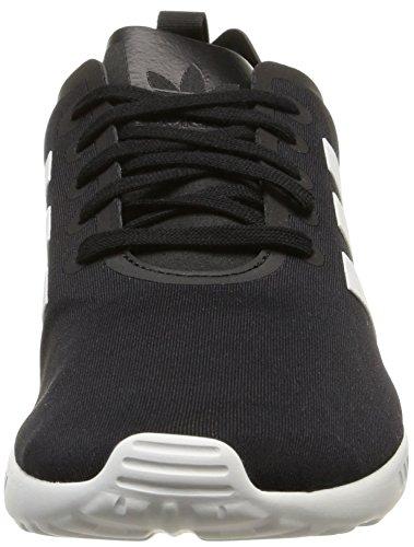 adidas Zx Flux Smooth, Chaussures de ville femme Noir (Core Black/Core White/Core White)