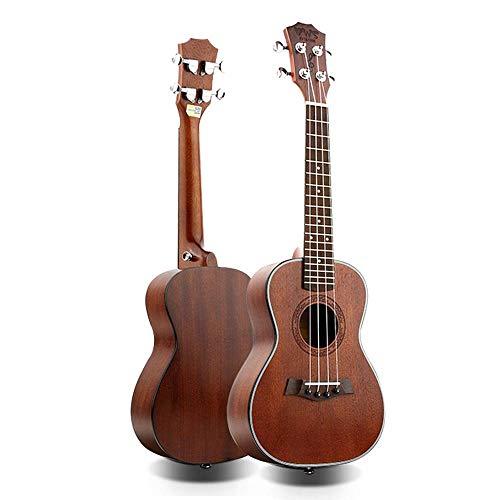 QLJ08 Ukulele da concerto da 26 pollici vintage rosso mini chitarra a 4 corde Uku chitarra acustica Ukelele mogano