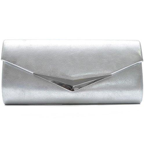 Borsetta Da Sera Con Borse Da Sera Da Uomo Vere Secret Bag In Molti Colori Argento