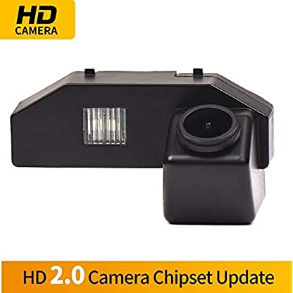 HD-1280x720p-Farbkamera-Wasserdicht-Rckfahrkamera-kennzeichenbeleuchtung-Kamera-KFZ-Rckfahrsystem-mit-Einparkhilfe-Nachtsicht-fr-Mazda-RX-8-2004-2011-Mazda-6-2009-2014