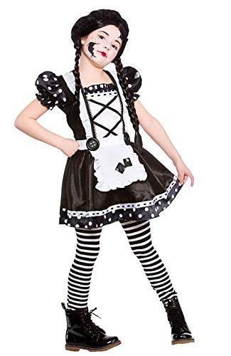 Broken Doll Child's Halloween Fancy Dress Costume Size L 8-10 years ()