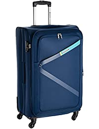 Safari greater Polyester 75-Cm Soft Sided check in Trolley