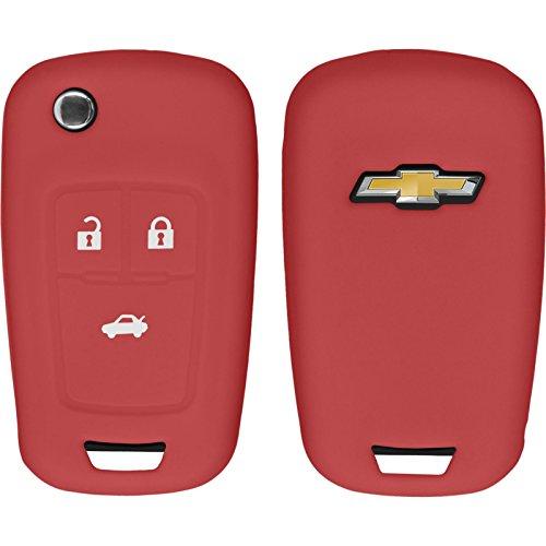 phonenatic-funda-de-silicona-para-mando-de-3-botones-de-chevrolet-cruze-en-rojo-llave-plegable-de-3-
