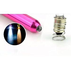 Tragbare multifunktionale LED Pen Licht Taschenlampe medizinische Oral Light Pen mit Clip zufällige Farbe