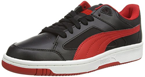 Puma Rebound v2 Lo Jr, Baskets Hautes Mixte Enfant