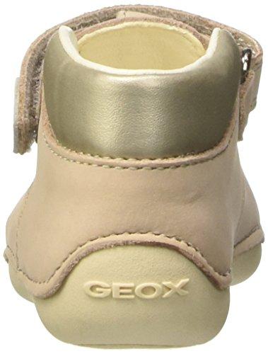 Geox Baby Mädchen B Tutim A Krabbelschuhe Beige (BEIGE/GOLDC0512)