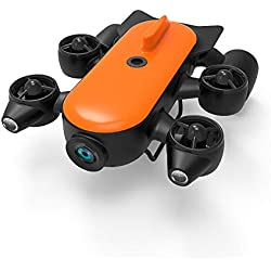 ACOC 150M/100M Robot sous-Marin Professionnel De ROV De Drone sous-Marin avec 4K UHD Action Camera Remote Control Détection en Temps Réel De Cuisson À La Vapeur sous l'eau pour La Visualisation