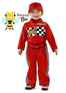 Garçons Formule 1 Pilote Racing Enfants Déguisements Costumes 5-7 ans [Jouet]