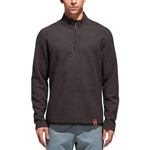 adidas Adicross Fleece Longsleeve I Pullover I Golf I Langarm I Warm I Stehkragen Fleece-pullover Golf