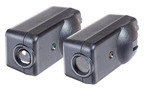 Chamberlain/Liftmaster//Handwerker 801Cb Garage Türöffner Ersatz Sicherheit Sensoren, inkl. 2Sensoren, Halterungen und Hardware -