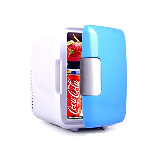 ZJY 4L Mini tragbarer Kühlschrank, elektrischer Kühlschrank, Kühler und Wärmer, mit abnehmbarem Fach Griff großer Lüfter für die Autoreise Sommer Obligatorisch - Badezimmer-eitelkeit-sitz
