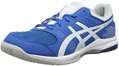 Asics Herren Gel-Rakete 8 Multisport Indoor Schuhe, Blau (Racer Blue/White 401), 44 EU (9 UK)