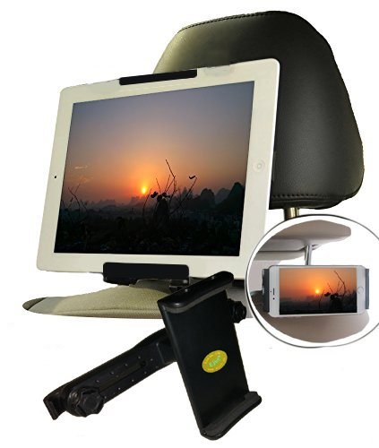 Ejut® Tablet Halterung Auto kopfstütze Nintendo Switch KFZ iPad Halterung Kopfstütze Tablet Kopfstützenhalterung iPad Mini Auto Kopfstützenhalter universal für alle Tablete 4-10 Zoll