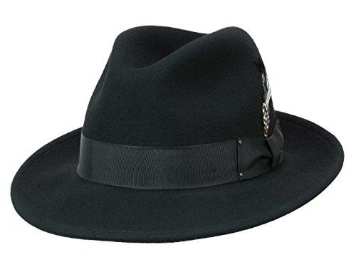 Bailey Homme Chapeau Trilby Blixen noir M/56-57