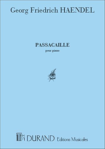 Passacaille - Piano