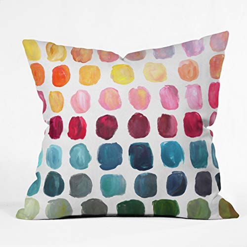 DENY Designs Stephanie Corfee Color Palette Indoor Throw Pillow, 16