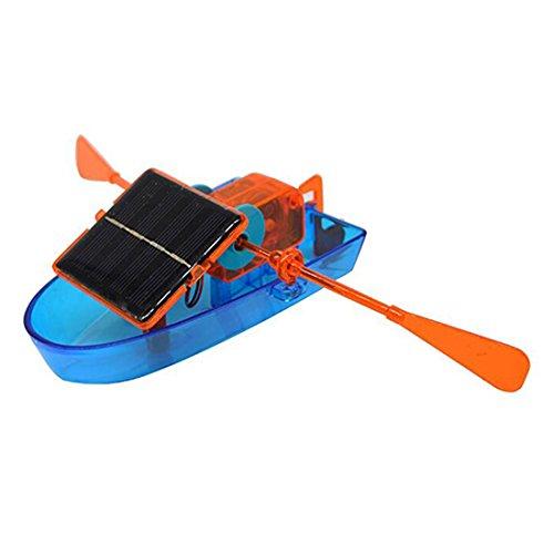 für Draußen Solar Boot für Kinder ab 8 Jahren Baukasten DIY Kit Solar Boat zum Selber Bauen u. Experimentieren Roboter-Bausatz umweltfreundliches Toy solarbetrieben von wortek (Diy-u-boot)