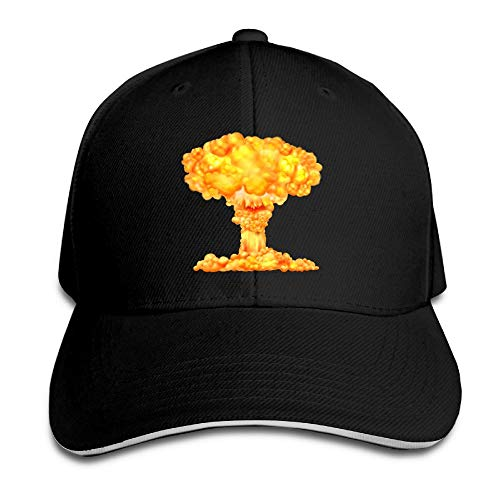 VTXINS Atomic Bomb Mushroom Cloud Dad Hat Sun Hat Sandwich Baseball Cap Hats -