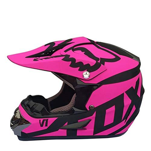 Erwachsene Motocross Helm Abs Material Anti Crash Downhill Full Face Motorradhelme Männer Frauen Universal Classic Outdoor Racing Schutzkappen
