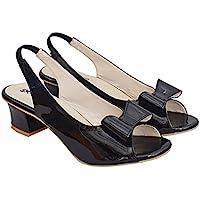 Zeenat Fashion Women and Girls Cassual Formals Block Heel Sandals