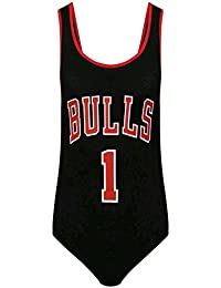 Amazon.it  chicago bulls - Donna  Abbigliamento 6862a4ec479d