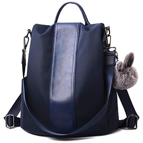 Charmore Damen Rucksack Wasserdichte Nylon Schultaschen Anti-Diebstahl Tagesrucksack Schultertaschen -