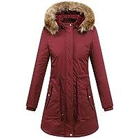 Hanomes Damen pullover, Frauen Winter Warme Dicke Oberbekleidung Kapuzenmantel Baumwolle gefütterte Jacke Plus... preisvergleich bei billige-tabletten.eu