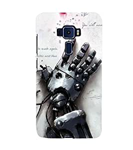 Unique print Back cover for Asus Zenfone 3 ZS570KL