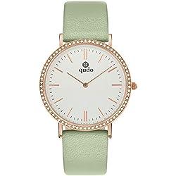 Qudo Ladies 'Watch/4S Light Green/Light Grey 801592