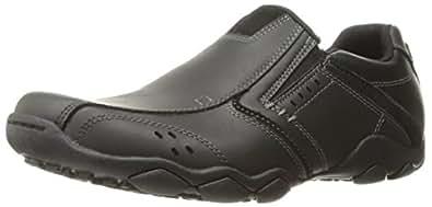 Skechers Diameter Valen Mens Lightweight Slip On Shoes 6 Black