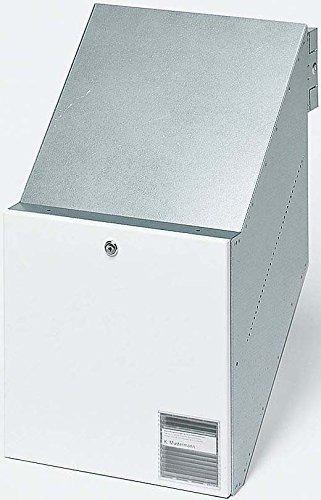Siedle Durchwurfbriefkasten NACH DIN 32617 BKV 611-3/3-0 W, weiß, 2543563