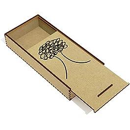 'Albero Stilizzato' Astuccio per matite in Legno (PC00019059)