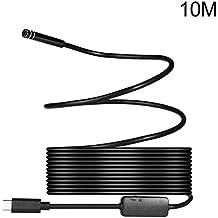 Telecamera endoscopica USB con 8LED regolabili endoscopio USB di tipo USB HD ispezione fotocamera per smartphone Android,70gradi focale angolo di visione