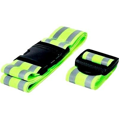 Reflective Belt and Arm Strap High Visibility for Running Gear reflective armbands for runners Cyclist Walking