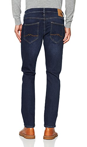 MUSTANG Oregon Tapered Herren Tapered Fit Jeans, 1005753 Blau (Dark 882)