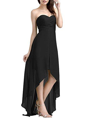 VB Kleid Rock Farbe Größe Partei Stomacher Ärmelloses Trailing, Schwarz, benutzerdefinierte (Benutzerdefinierte T-shirt Farbe-schwarz)