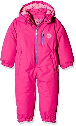 Kanz Mädchen Sportswear-Set Schneeanzug m. Abnehmbarer Kapuze 1, Gr. 98, Rosa (Fuchsia Purple 2070)