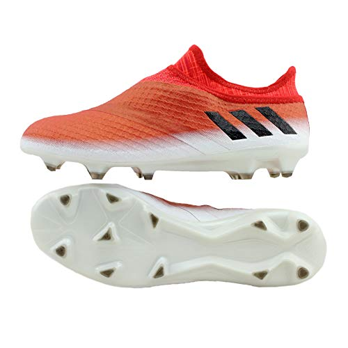 adidas Herren Messi 16+ Pureagility Red Limit FG Fußballschuhe Rot White/Black, 43 1/3 EU