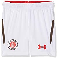 Under Armour 191480585054 FC St. Pauli Away Replica Pantalones Cortos, Infantil, White (101), X-Large