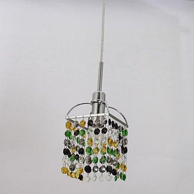 Classica e moderna arte retrò di lampadari di vetro, ferro creative arte in vetro di Murano, minipendant luci a soffitto, lampadari di cristallo-188 lighting 220-240V-multi colore - Multi Orecchini A Cristallo Di Colore