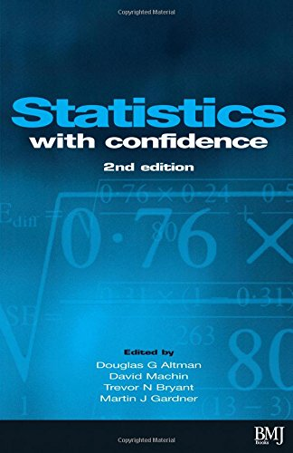 Statistics with Confidence: Confidence Intervals and Statistical Guidelines, 2nd Edition