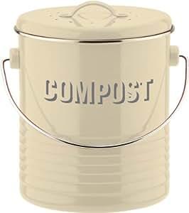 Typhoon Vintage Boîte à compost Crème