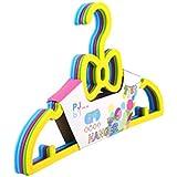 Baby Grow Multicoloured Plastic Cloth Hanger 5pcs Set